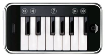 Piano on iPhone