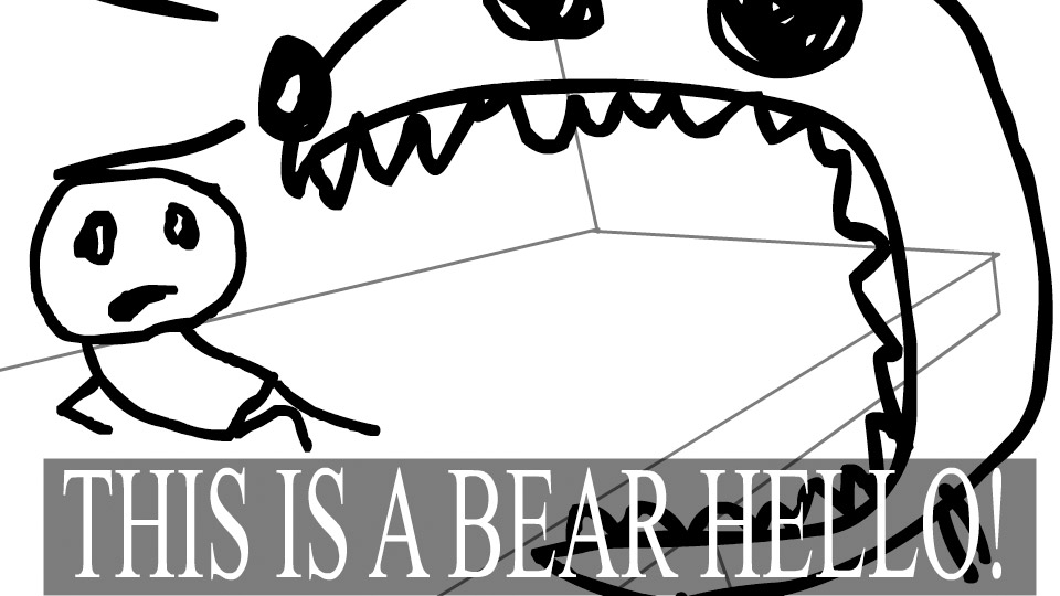 Bear Hello!