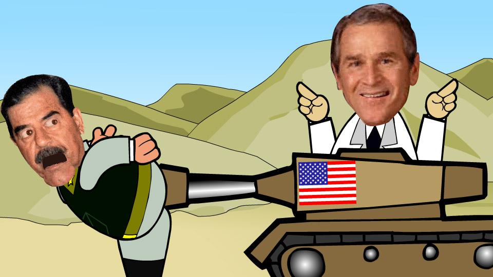 Bomb Saddam!