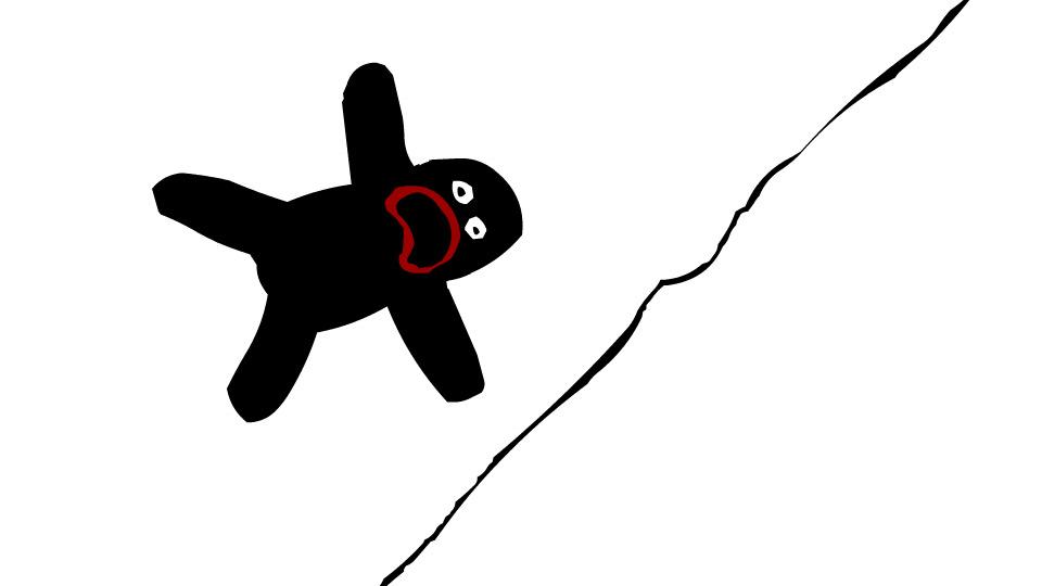 Dude Falling