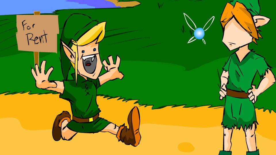 Zelda: Flying Fairy