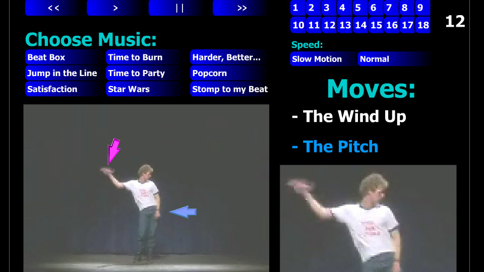 Learn to Dance with Napoleon Dynamite