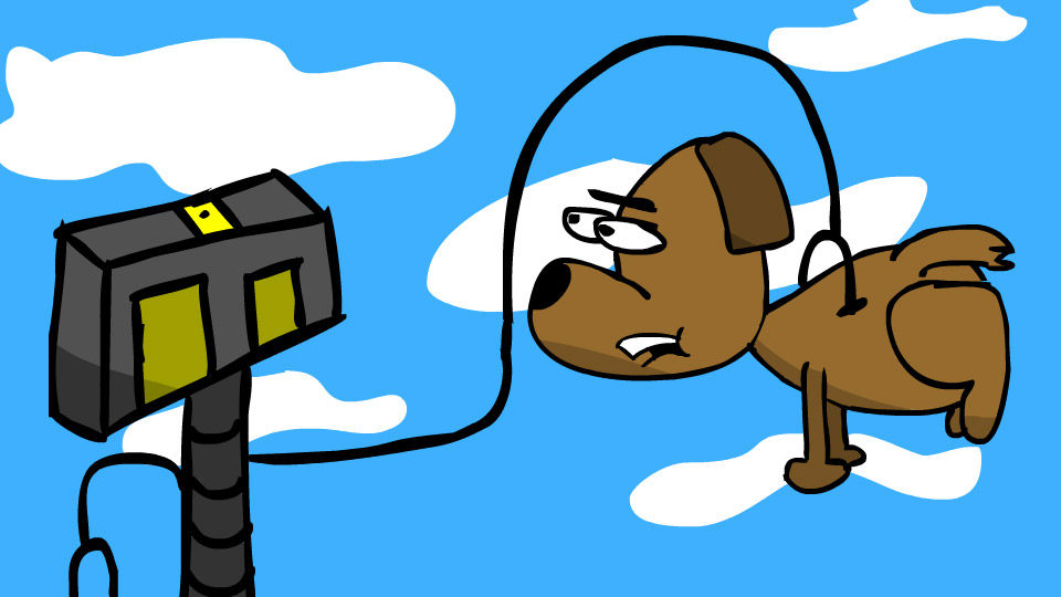 Robot & Dog 1