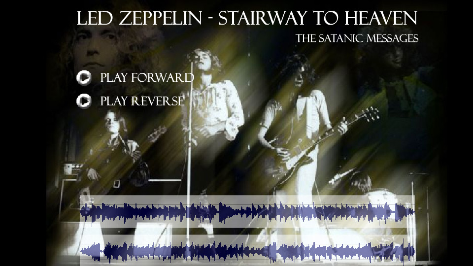 Stairway To Heaven: Reverse Lyrics