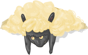 albino black sheep