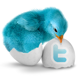 'Twitter Blue Bird' from the web at 'http://www.albinoblacksheep.com/twitter/bluebird.png'